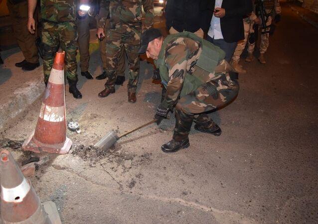 إبطال صواريخ موجهة في المنطقة الخطراء بالعاصمة بغداد