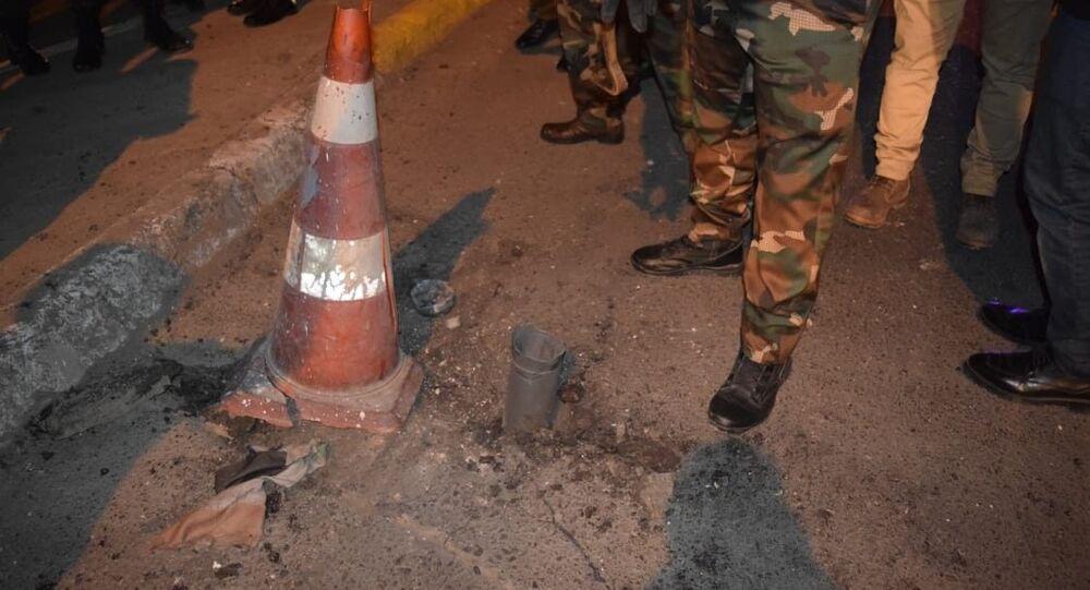 إبطال مفعول صواريخ موجهة بالمنطقة الخضراء في العاصمة بغداد