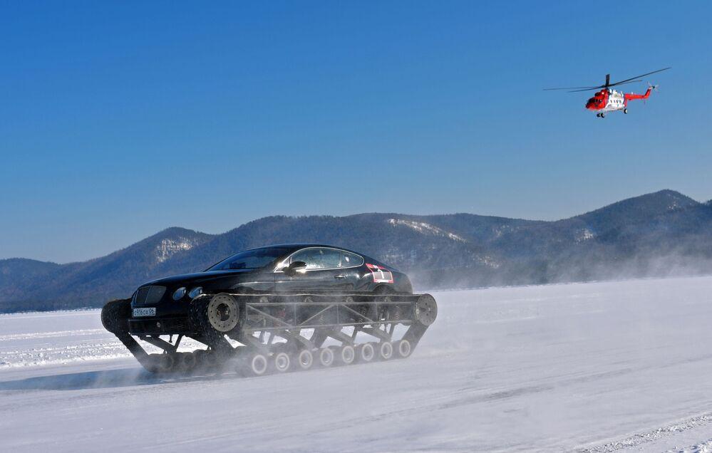 مهرجان السرعة ميل بايكال 2020 في أولان أودي، روسيا