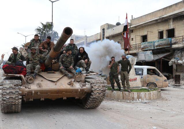 جولة سبوتنيك في سراقب بعد تحريرها من قبل الجيش السوري