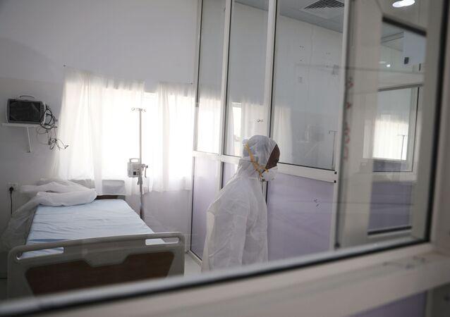 مركز الحجر الصحي في مدينة صنعاء اليمن
