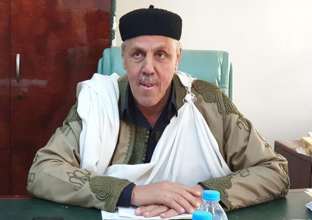 الشيخ صالح الفاندي رئيس المجلس الأعلى لمشايخ وأعيان ليبيا