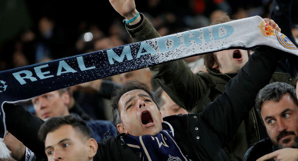 مشجع ريال مدريد