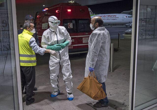 إجراءات طبية في المغرب بسبب تفشي فيروس كورونا