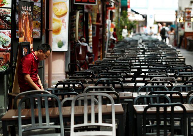 انتشار فيروس كورونا - سنغافورة  21 فبراير 2020