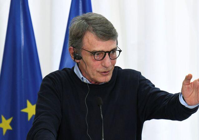 رئيس البرلمان الأوروبي، ديفيد ساسولي