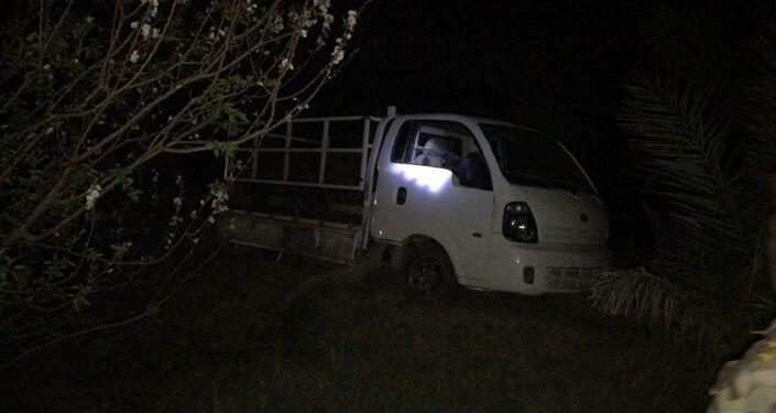 القوات العراقية تعثر على سيارة تحمل منصة صواريخ