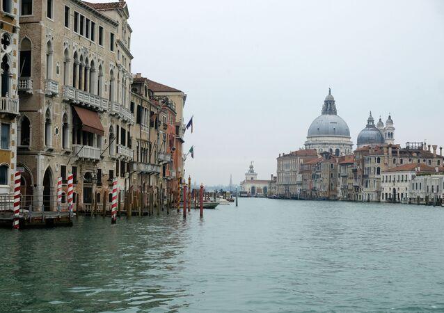 انتشار فيروس كورونا - البندقية، إيطاليا مارس 2020