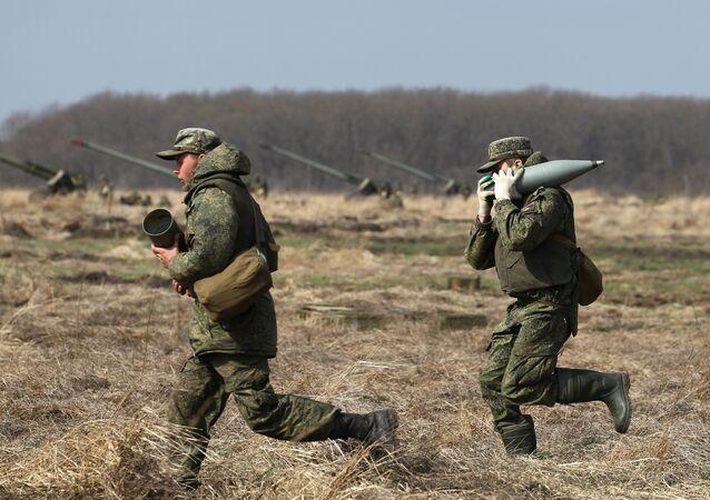 الجيش الروسي - مناورات عسكرية في إقليم جنوب روسيا، ميدان مولكينو العسكري في كراسنودارسكي كراي