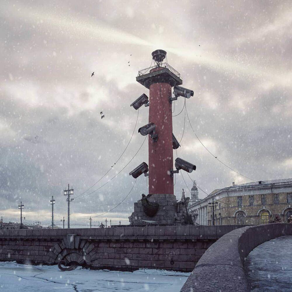 عمل الفنان الروسي فاديم سولوفيوف