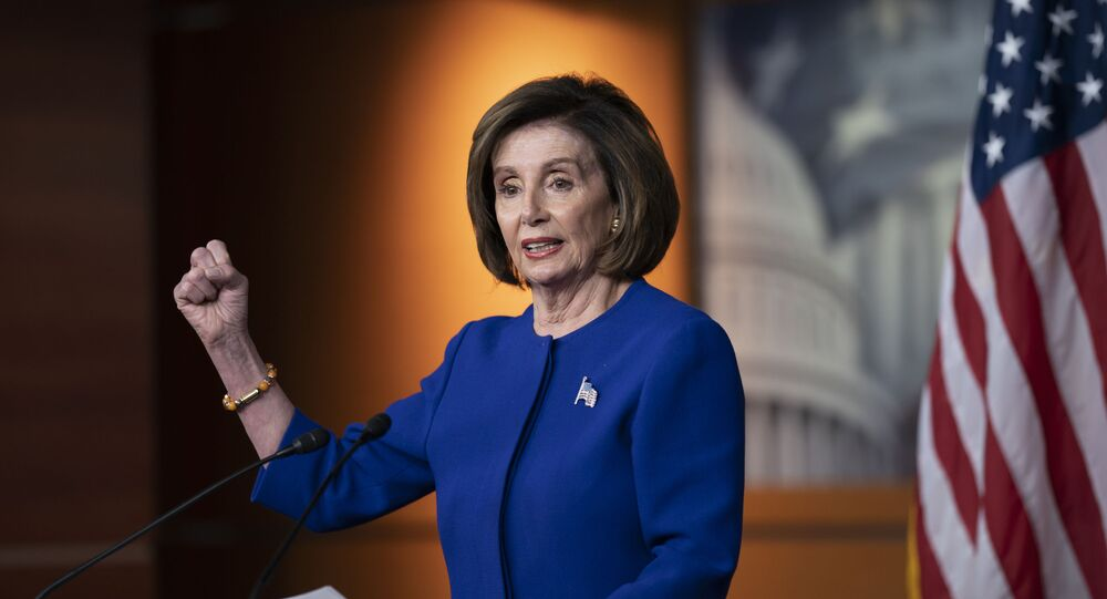 رئيسة مجلس النواب الأمريكي، نانسي بيلوسي