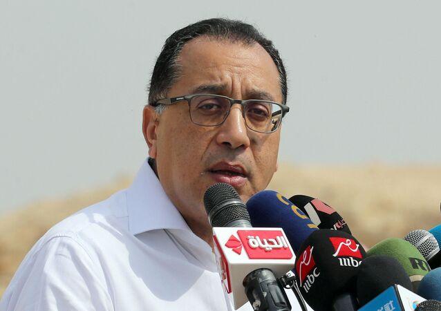 رئيس الوزراء المصري الدكتور مصطفى مدبولي