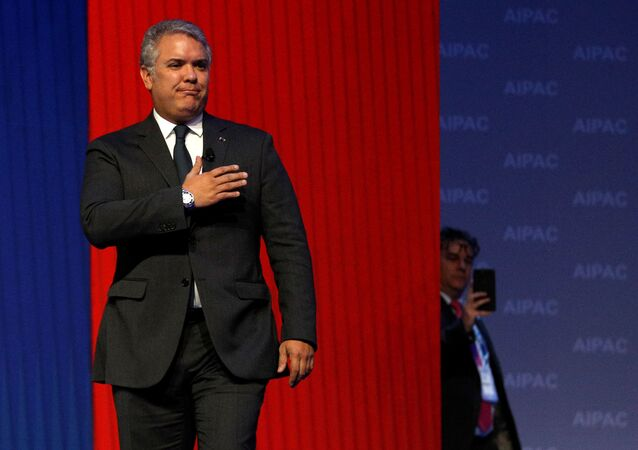 الرئيس الكولومبي إيفان دوكي ماركيز
