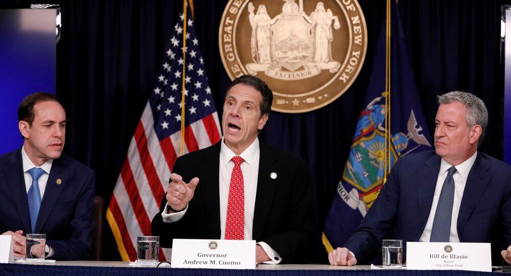حاكم ولاية نيويورك، أندرو كومو