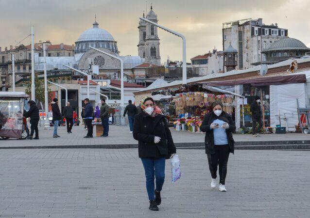 انتشار فيروس كورونا في تركيا - الاجراءات الاحترازية ضد انتشار الفيروس في اسطنبول، ١٨ مارس ٢٠٢٠