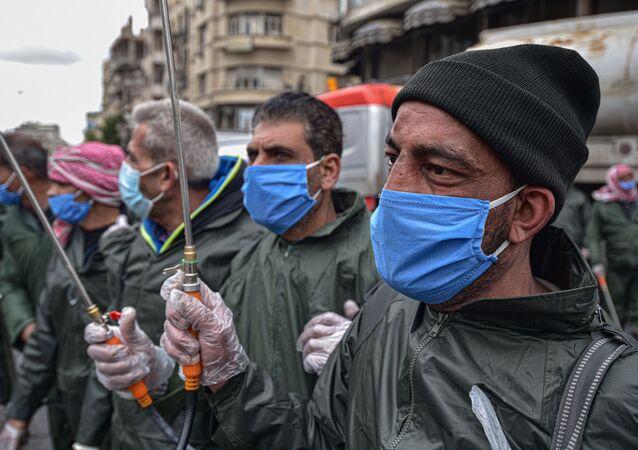 انتشار فيروس كورونا في سوريا - الاجراءات الاحترازية ضد انتشار الفيروس في سوريا، ١٩  مارس ٢٠٢٠