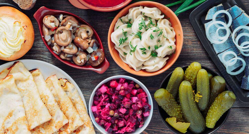 أطباق المطبخ الروسي