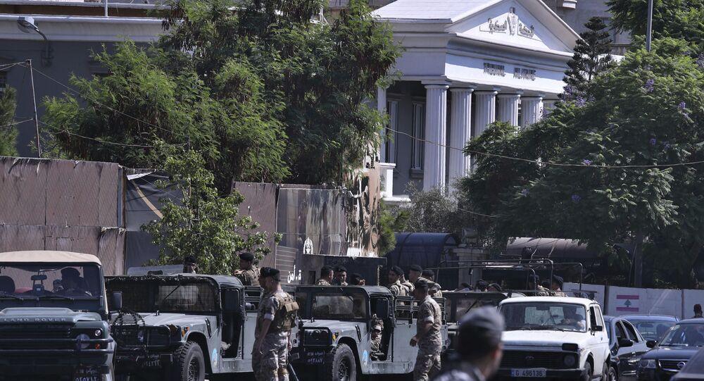 المحكمة العسكرية اللبنانية، بيروت، لبنان 17 سبتمبر 2019