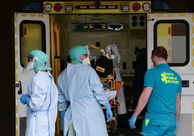 فيروس كورونا في بلجيكا