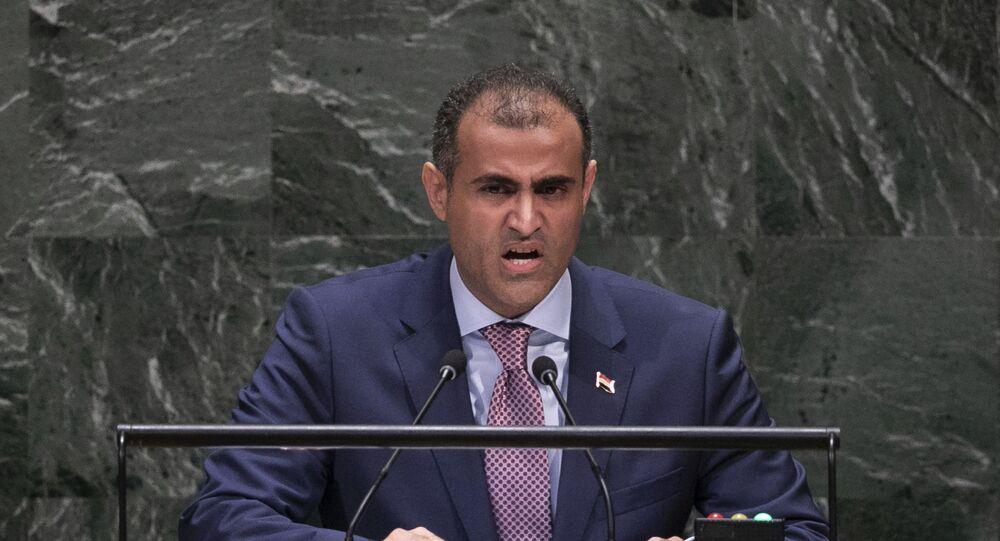 وزير الخارجية اليمني، محمد الحضرمي