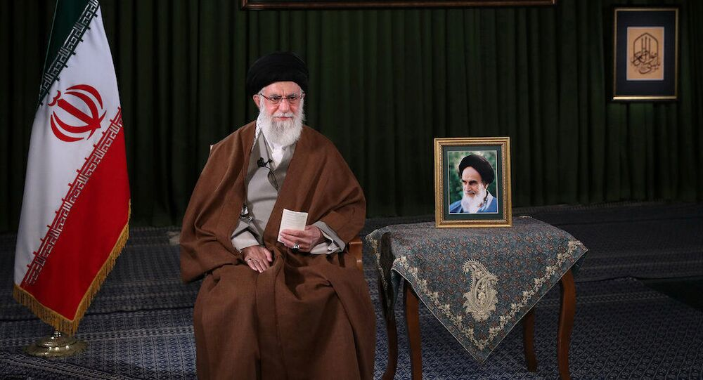 الزعيم الأعلى الإيراني، آية الله علي خامنئي