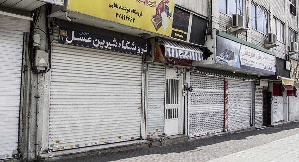 الحجر الصحي في طهران، انتشار فيروس كورونا في إيران، مارس 2020