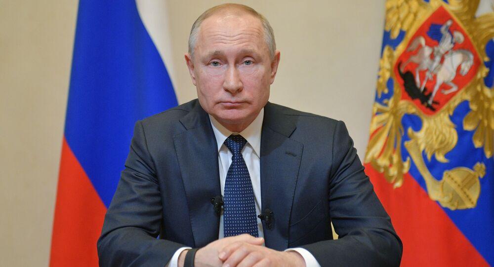 كلمة الرئيس فلاديمير بوتين للشعب الروسي على خلفية تفشي فيروس كورونا 25 مارس 2020