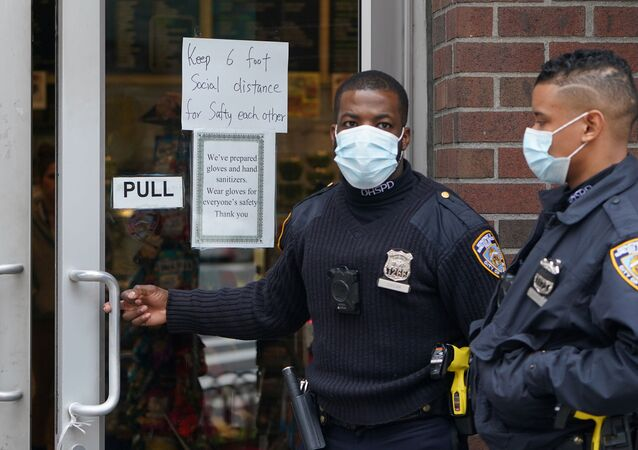 الحجر الصحي في نيويورك، انتشار فيروس كورونا في الولايات المتحدة، مارس 2020