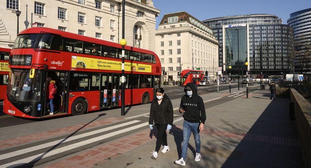 الحجر الصحي في لندن، انتشار فيروس كورونا في بريطانيا، مارس 2020