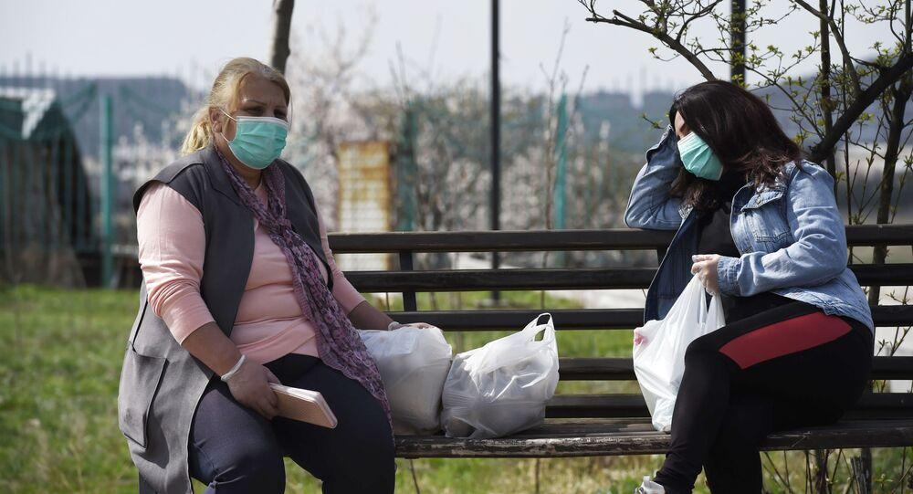 الحجر الصحي في يريفان، انتشار فيروس كورونا في أرمينيا، مارس 2020