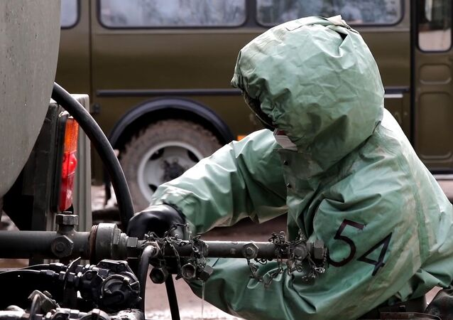 الجيش الروسي - التحقق من جاهزية قوات الوقاية في جمهورية تشيليابينسك الروسية خلال التتدرب على مكافحة الفيروسات (كورونا)، روسيا