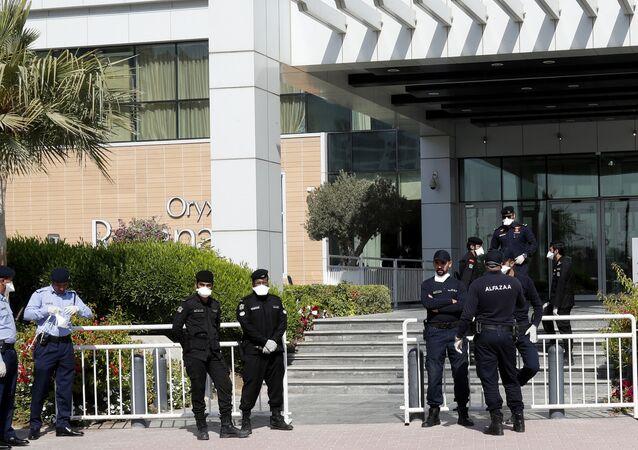 الشرطة القطرية في الدوحة