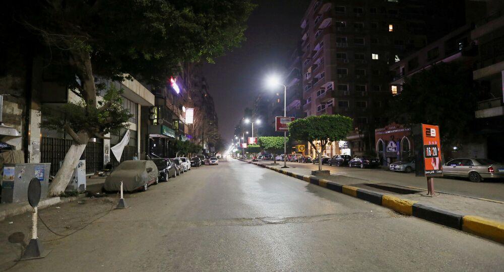 القاهرة - حظر تجوال بسبب كورونا