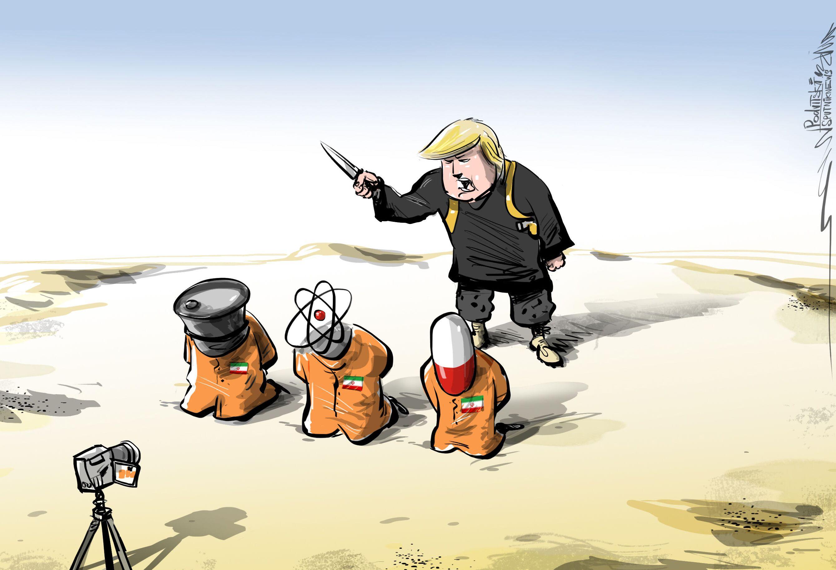 أوجد الفرق بين الإرهاب والعقوبات الأمريكية