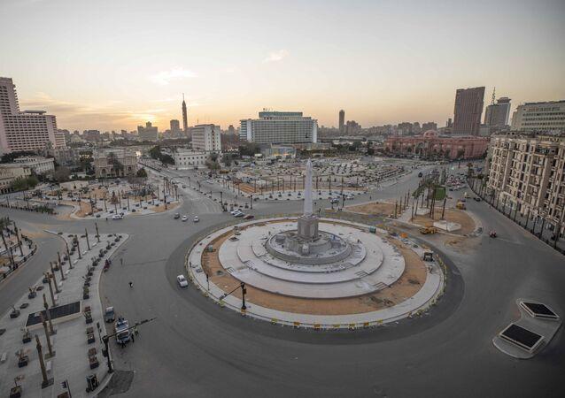 ميدان التحرير في مصر