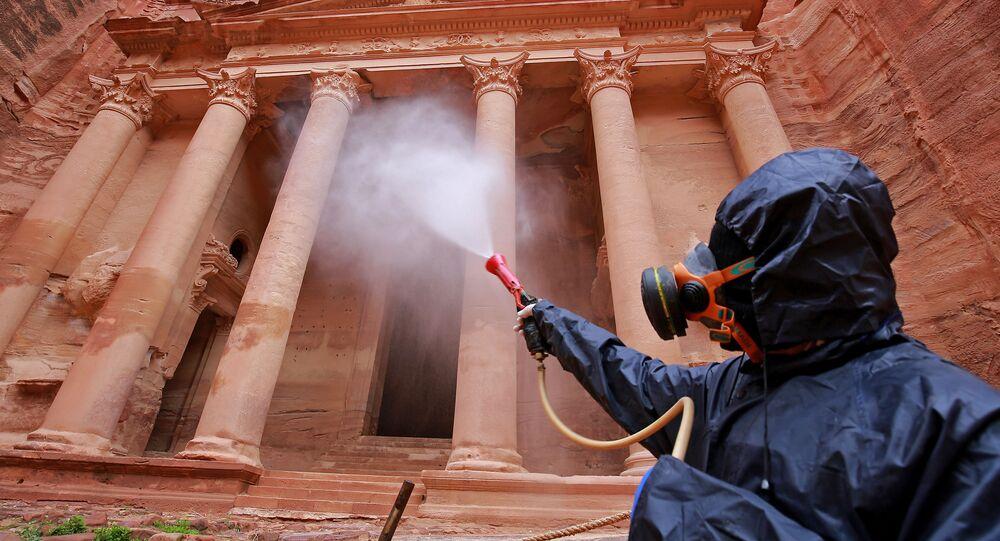 عمليات التعقيم والتطهير في الأردن، كورونا 17 مارس 2020