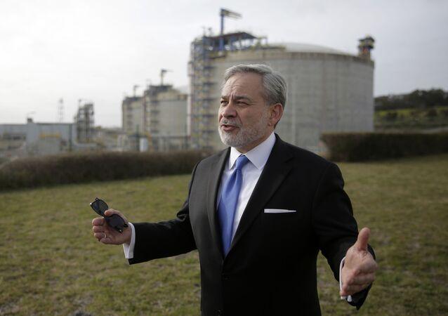 وزير الطاقة الأمريكي دان برويليت فبراير / شباط 2020