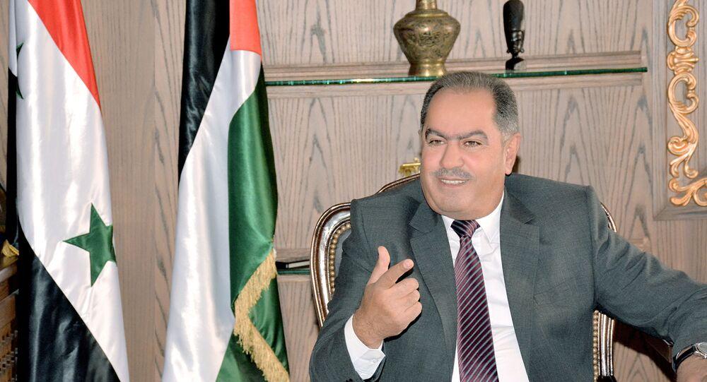 رئيس الاتحاد العام لنقابات عمال سوريا جمال القادري