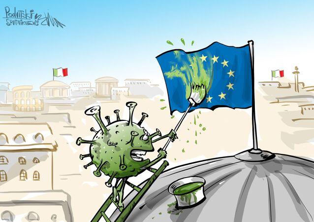 إيطاليا مستاءة من بالاتحاد الأوروبي