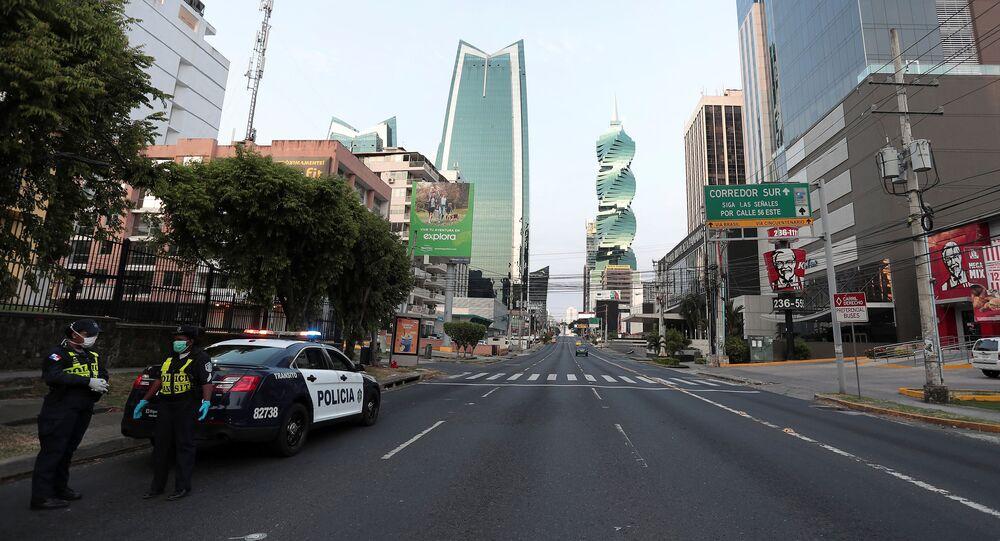 حظر التجوال في بنما بسبب كورونا