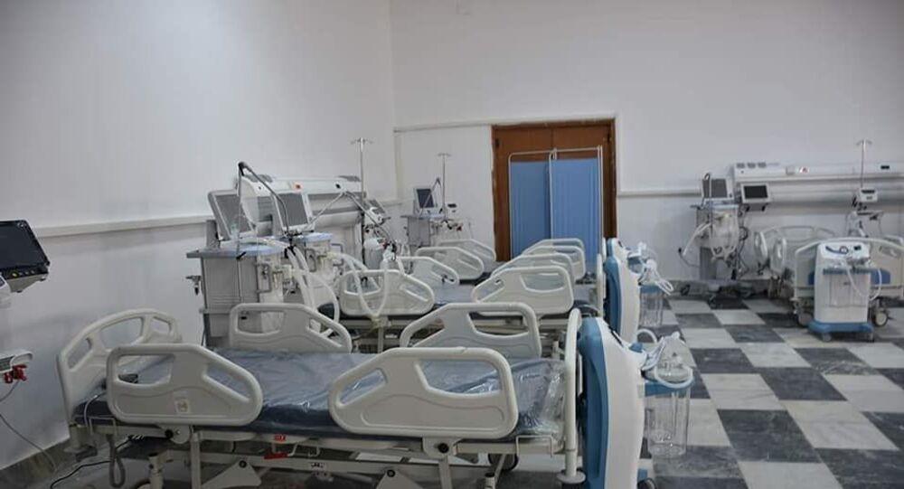 مقر الحجر الصحي في طبرق في ليبيا
