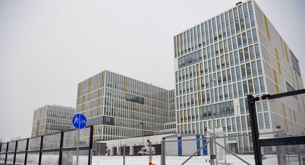 مستشفى كاموناركا لمرضى فيروس كورونا في موسكو