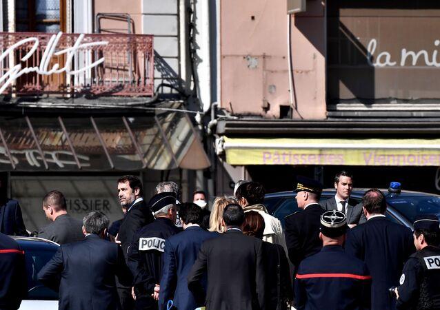 وزير الداخلية الفرنسي في هجوم ليون