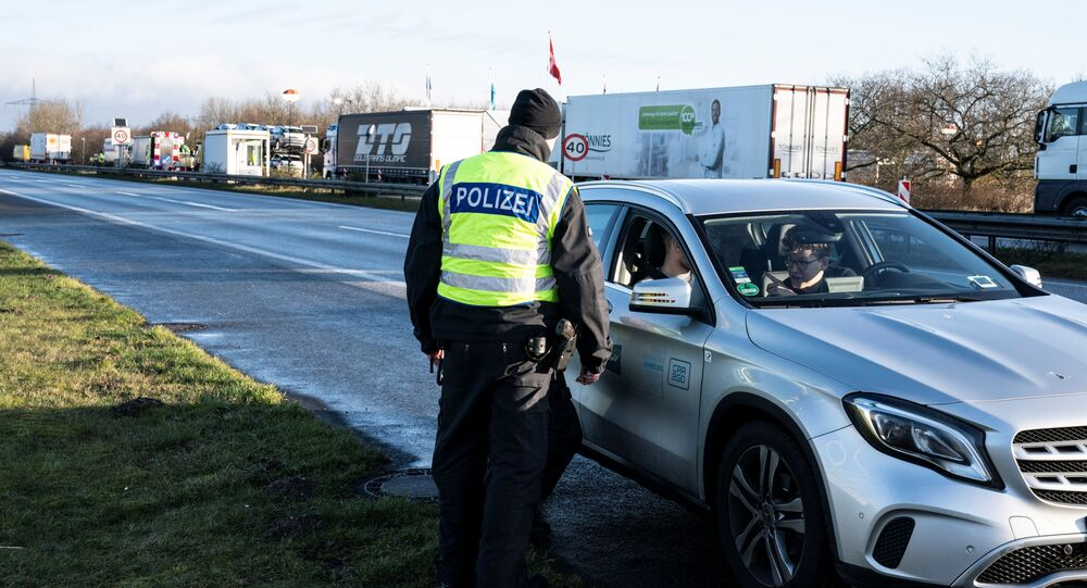 إغلاق الحدود بين ألمانيا والدنمارك