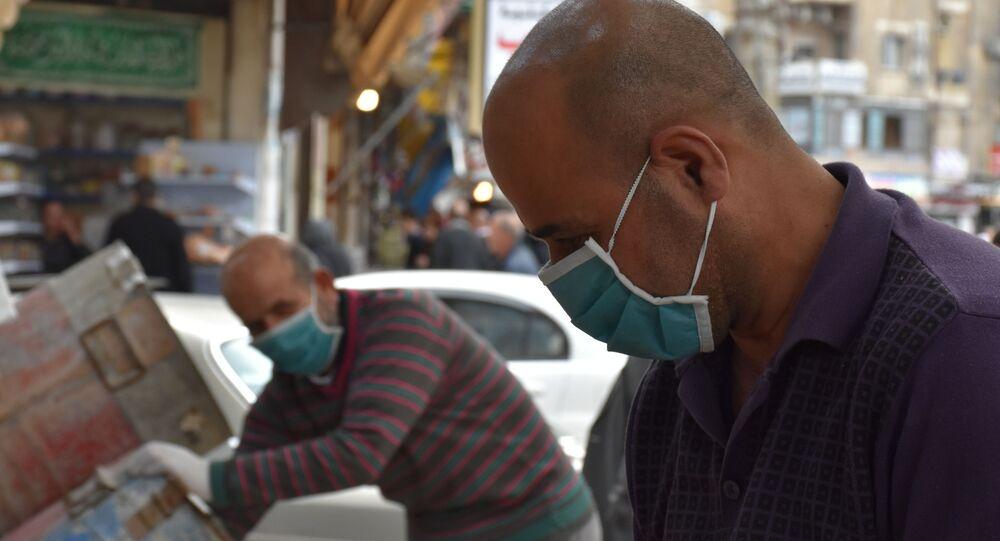 الحلبيون في زمن كورونا، حلب، سوريا