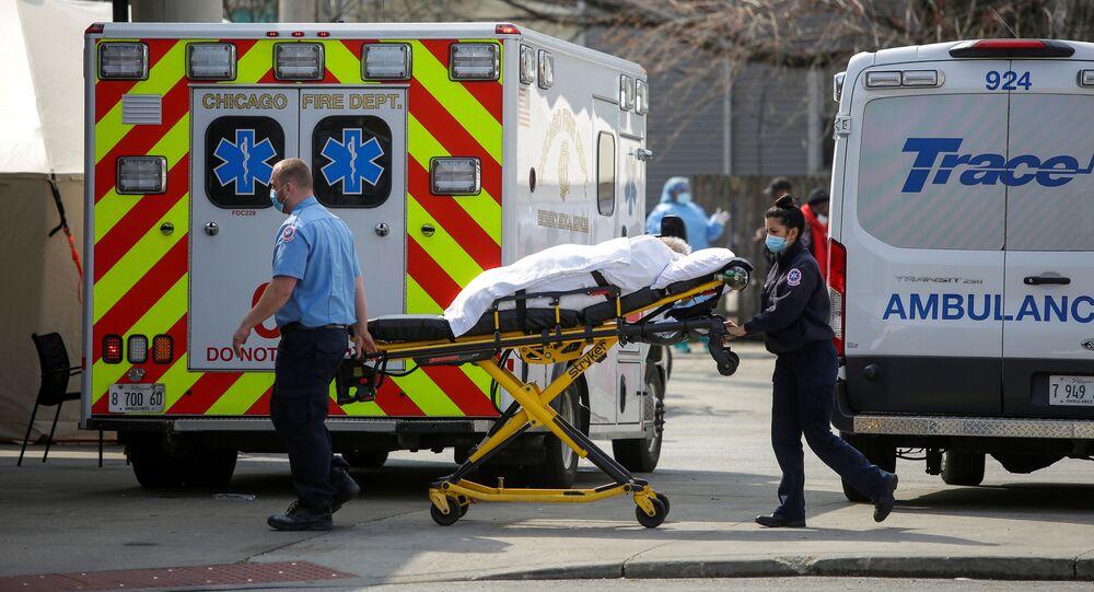 2000 وفاة في الولايات المتحدة خلال 24 ساعة 8 أبريل / نيسان 2020