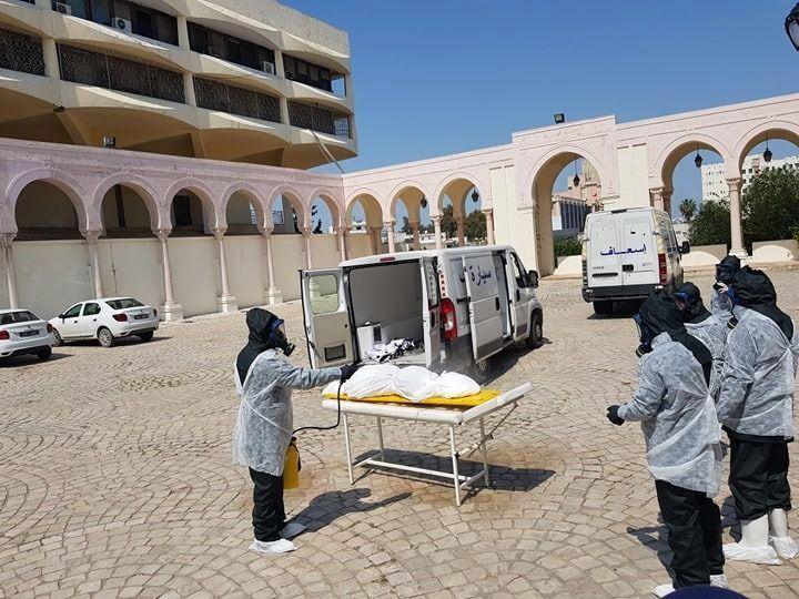 ضحايا فيروس كورونا في تونس