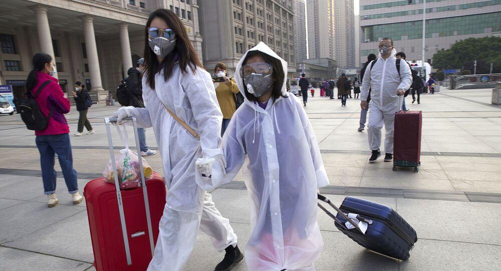عودة الحياة إلى طبيعتها في مدينة ووهان، مركز تفشي فيروس كورونا، الصين أبريل 2020