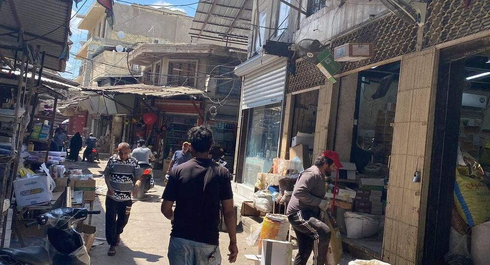 أقدم أسواق العراق يعود للحياة متحديا كورونا