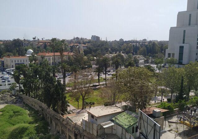قسم الزلازل بالمركز الوطني للزلازل في سوريا